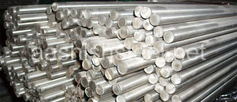Original Photograph Of AISI 4130, 4140, 4340, 1045, 8620 Steel round Bars At Our Warehouse Mumbai, India