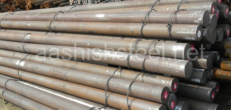 Original Photograph Of Alloy 20 Round Bars At Our Warehouse Mumbai, India