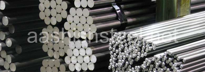 Original Photograph Of ASTM A182 F91 Alloy Steel Round Bars At Our Warehouse Mumbai, India