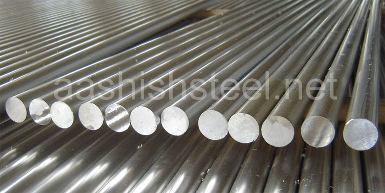 Original Photograph Of Stainless Steel 310 Round Bars At Our Warehouse Mumbai, India