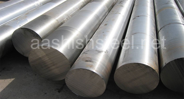 Original Photograph Of Stainless Steel 316 Round Bars At Our Warehouse Mumbai, India