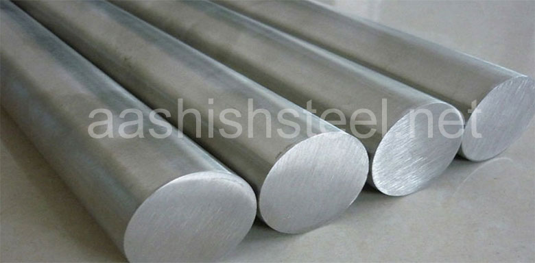 Original Photograph Of Stainless Steel 316L Round Bars At Our Warehouse Mumbai, India