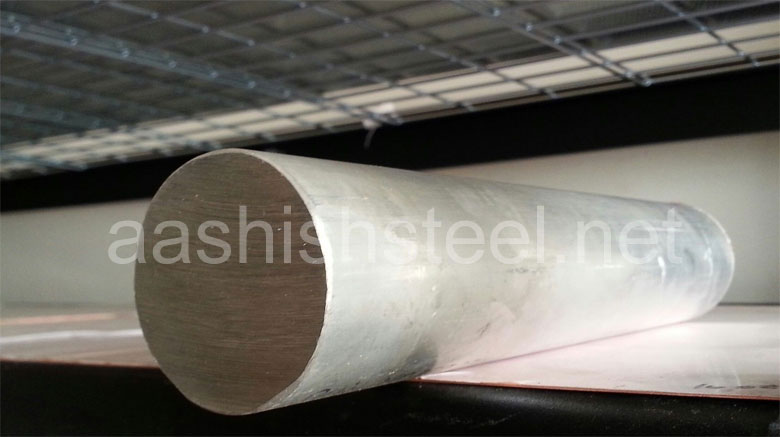 Original Photograph Of Stainless Steel 316Ti Round Bars At Our Warehouse Mumbai, India