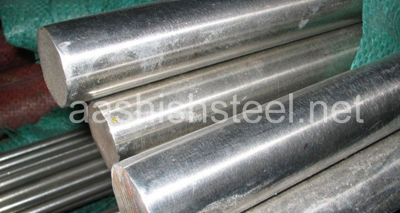 Original Photograph Of Stainless Steel 416 Round Bars At Our Warehouse Mumbai, India