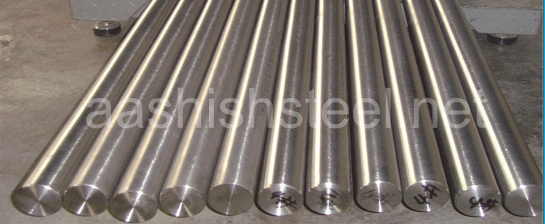 Original Photograph Of Incoloy 800 Round Bars At Our Warehouse Mumbai, India
