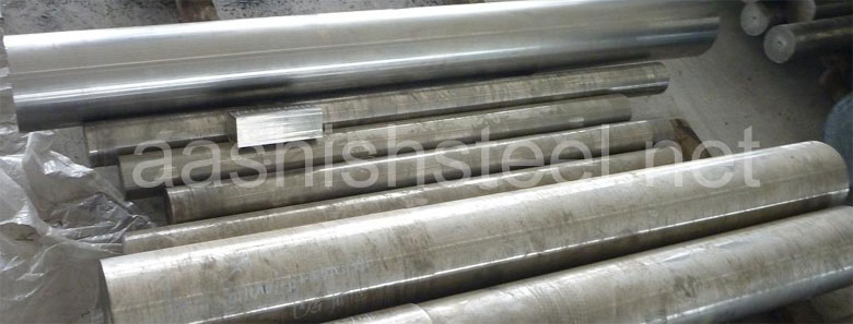 Original Photograph Of Inconel X-750 Round Bars At Our Warehouse Mumbai, India