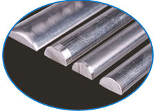 Alloy Steel Half Round bar