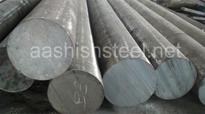 Original Photograph Of ASTM B865 Monel K500 Round Bars At Our Warehouse Mumbai, India