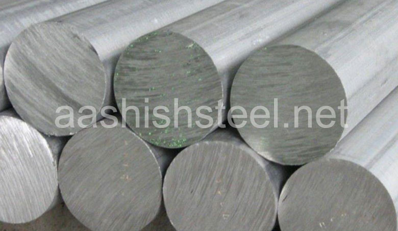 Original Photograph Of Stainless Steel 13-8 PH Round Bars At Our Warehouse Mumbai, India