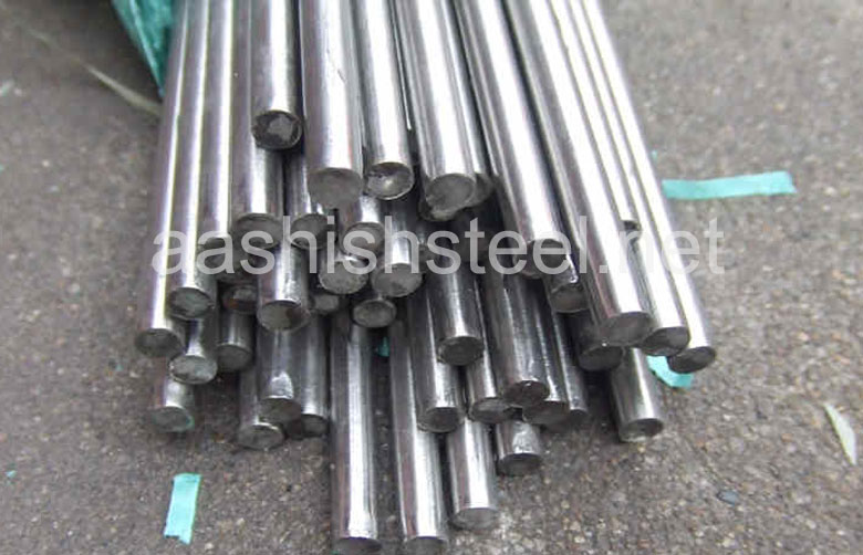 Original Photograph Of Stainless Steel Round Bars At Our Warehouse Mumbai, India