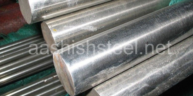 Original Photograph Of UNS S32750 Super Duplex Steel Round Bars At Our Warehouse Mumbai, India