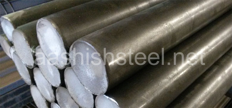 Original Photograph Of Super Duplex Steel UNS S32760 Round Bar At Our Warehouse Mumbai, India