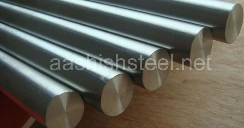 Original Photograph Of Titanium Grade 1 Round bar At Our Warehouse Mumbai, India