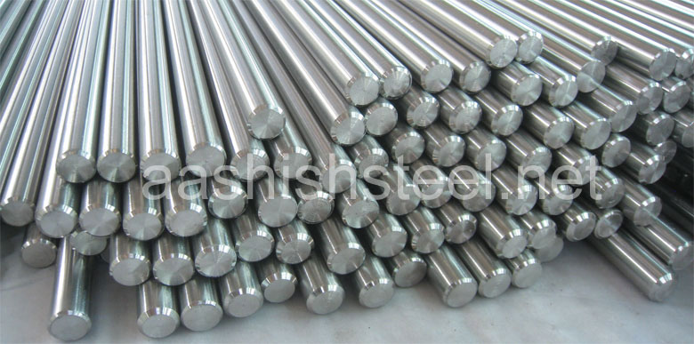Original Photograph Of Titanium Bars Round Bar At Our Warehouse Mumbai, India